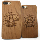 Namaste (Z12) - wood wooden phone cover case-jiacase