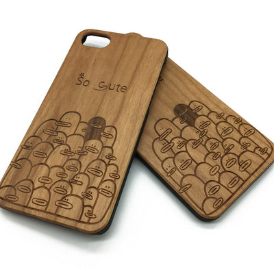 Ducks (Z19) - wood wooden phone cover case-jiacase