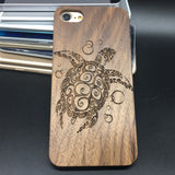 Sea Turtle (Y007) - wood wooden phone cover case-jiacase