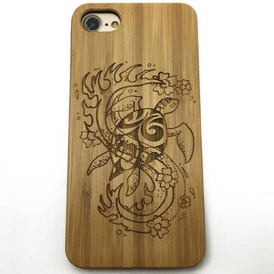 Sea Turtle (Z41) - wood wooden phone cover case-jiacase