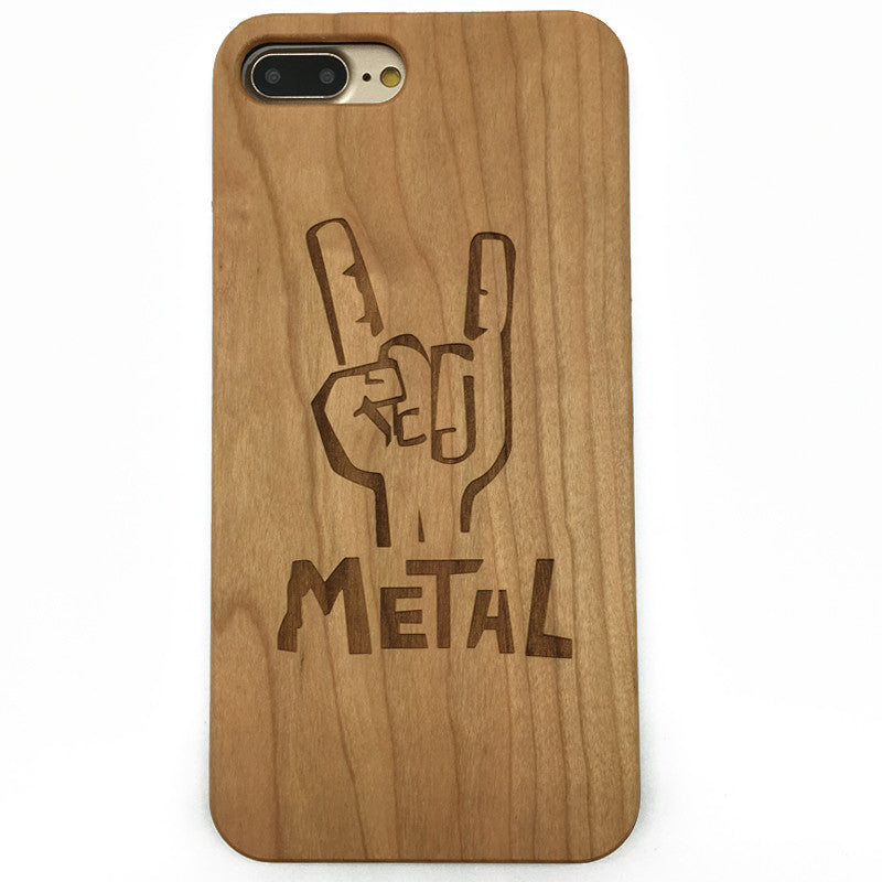 Rock (Z28) - wood wooden phone cover case-jiacase