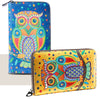 Women's New Owl Wallet Genuine Leather Zipper Wallet Coin Case Purse