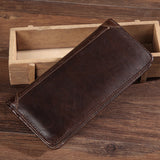 Men Wallets Coin Zipper Pocket Genuine Leather Luxury Wallet