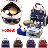 Baby Mummy Diaper Bag Nappy Changing Pad Waterproof Backpack