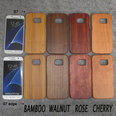 Samsung Galaxy S7 S7edge All Natural Wood Case (P25)