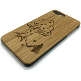 Tree (Y041) - wood wooden phone cover case-jiacase