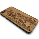 Leaves Beauty Wood Cases Iphone 7/7plus Cover Samsung Glaxy S7 S6 Edge