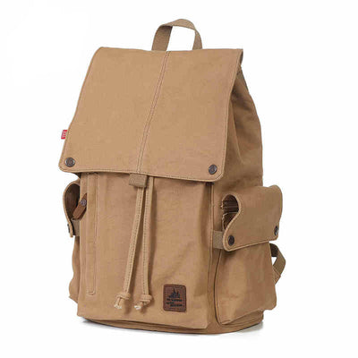Mens Womens Travel Canvas Laptop Bag Camping School Bag Bookbags Backpack Rucksack (GY13)