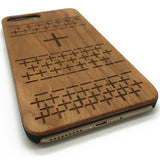 Cross Wooden iPhone 7 6 5 Cover Phone Wood Cover Smasung S7 S6 Edge