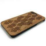Hearts (Z35) - wood wooden phone cover case-jiacase