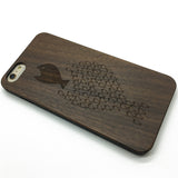 Kill the boss (Y011) - wood wooden phone cover case-jiacase