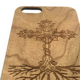 Religious iPhone 7 6 6s 5 Plus Wooden Case Engraved Samsung S7 S6 S5 Edge