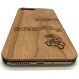 Super Mario Bros Real Wooden iPhone 7/6 Plus Case Samsung S 7/6 Edge