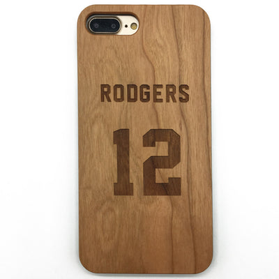 Jersey (Y018) - wood wooden phone cover case-jiacase