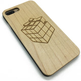 Rubik's Cube (Y006) - wood wooden phone cover case-jiacase
