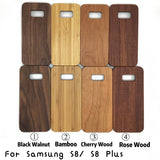 Wooden Cover Natural Wood & PC Cover for Samsung Galaxy S8 and  S8 Plus Case