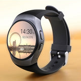 KW18 1.3 Inch Touch Screen Smart Watch Phone Support SIM TF Card Heart Rate Monitor Smartwatch