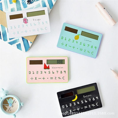 Fruit Sunshine Solar Energy Scientific Calculator Student School Office Exam Supplies Stationery