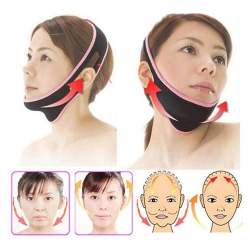 Face Lift Up Belt Sleeping Face-Lift Mask Massage Slimming Face Shaper Relaxation Facial Slim Mask Face-Lift Bandage 1pc