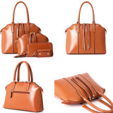 4 Pcs/set Shoulder Bag Handbag Wallet Key Bag Design Bag for Women Tote