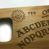 Ouija Board Real Bamboo Wooden Cover iPhone 7 Samsung  S7/6 Case