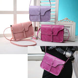 Women Fashion Smaller PU Leather Purse Messenger Crossbody Lady Wallet