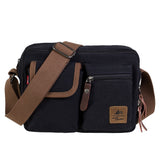 Women's Girl Vintage Canvas Caual School Bag Bookbag Satchel (GY09)