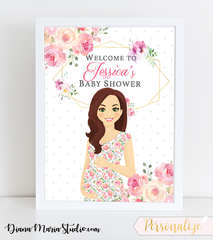 Baby Shower Signs
