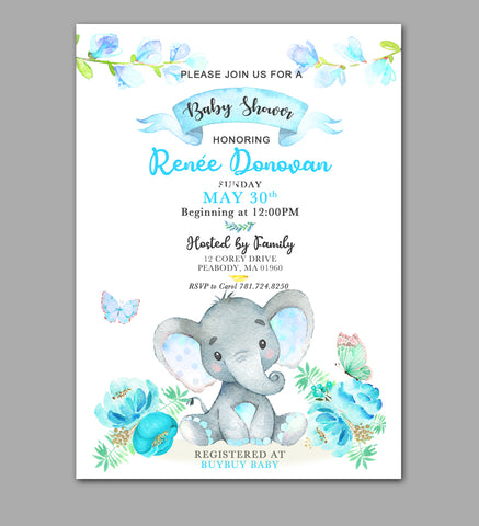 Custom Order for Renee's Baby Shower - INSTANT DOWNLOAD