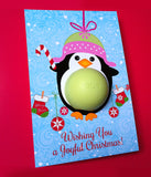 DIY Christmas Gift Penguin Eos balm holder - Christmas ornament 2017 Stocking fillers for her - Penguin ornament - INSTANT DOWNLOAD