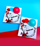 Dr Seuss Baby Shower Favors EOS lip balm holder Printable favor tags - INSTANT DOWNLOAD