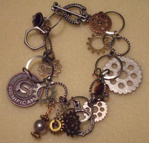 Audra Phillip's beautiful gear bracelet