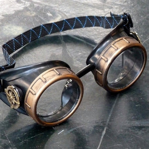 Basic Transparent Steampunk Goggles - Steampunk Artifacts