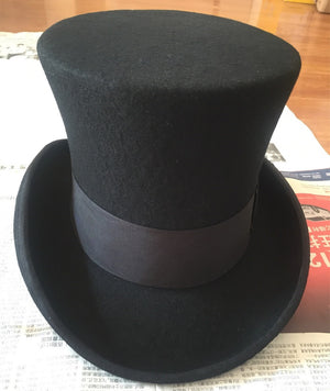 Steampunk Mad Hatter Top Hat - Steampunk Artifacts