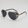 Aviator Sunglasses with Steampunk Side Shields