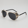 Aviator Sunglasses with Steampunk Side Shields - Steampunk Artifacts