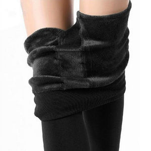 Baby It's Cold Outside Cashmere Winter Leggings - Steampunk Artifacts