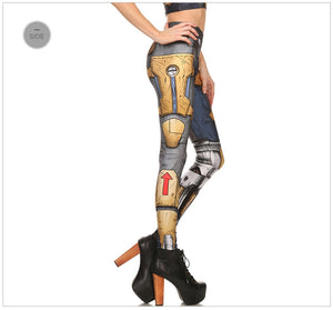 Cosplay Steampunk Leggings - Steampunk Artifacts
