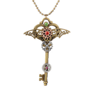 Key Steampunk Pendant - Steampunk Artifacts