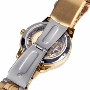 Golden Metallic Skeleton Watch - Steampunk Artifacts