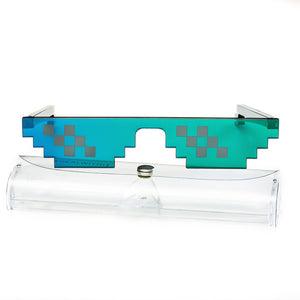 Pixels 8 bit Sunglasses - Steampunk Artifacts
