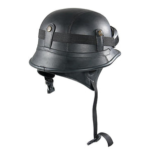Bruiser Vintage Steampunk Riding Helmet - Steampunk Artifacts