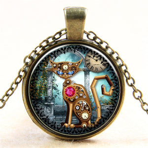 Tree Of Life Steampunk Necklace Collection - Steampunk Artifacts