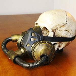 Retro Steampunk Gas Mask - Steampunk Artifacts