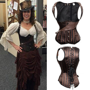 Constantia Pirate Steampunk Corset
