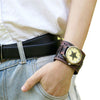 Vintage Steampunk Leather Bracelet Watch -  - 7