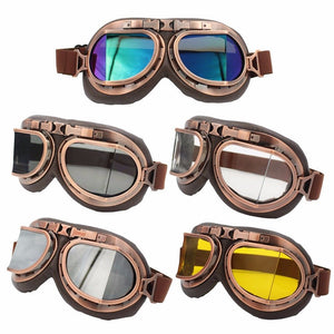 Steampunk Aviator Goggles - Steampunk Artifacts