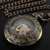 Steampunk Chain Pocket Watch -  - 1
