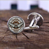 Angel Wings Steampunk Cufflinks -  - 1