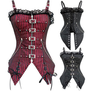 Steampunk Overbust Corset - Steampunk Artifacts